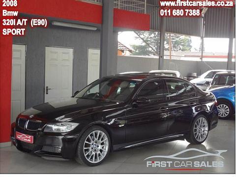 2008 BMW 3 Series Sedan 320i Steptronic