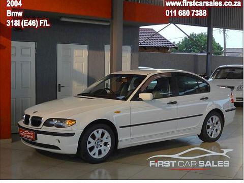 2002 BMW 3 Series Sedan 318i