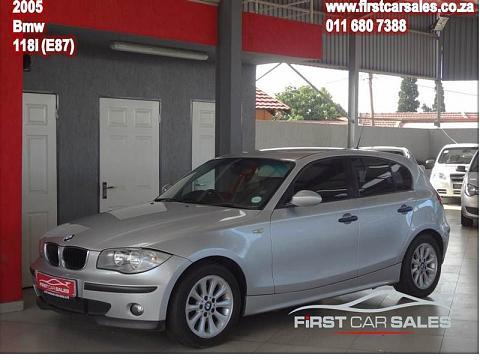 2005 BMW 1 Series 5-Door 118i