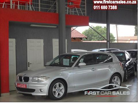 2007 BMW 1 Series 5-Door 120i