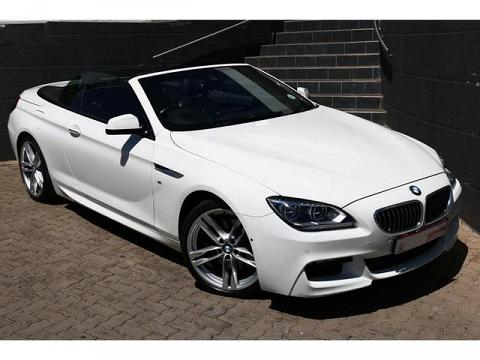2014 BMW 6 Series Convertible 640i M Sport Sport Steptronic
